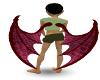 Red Reptile Wings