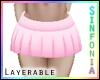 Layer. Light Pink Skirt