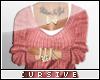 |C| Pink Sweater