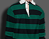 , stripe rugby shirt