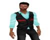 Uptpown Vest Shirt Aqua