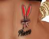 Pisces Tummy Tattoo