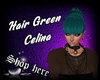 Hair Green Celina