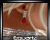 Red Diamond Earings