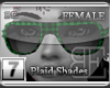 [BE] GreenPlaid Shades F