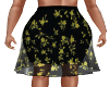 Shilo Skirt-Yellow/Blk