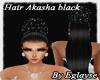 EG hair akasha black