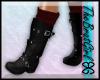 BG Jac Leather Boots Blk