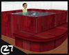 c27 Mahogany Hot Tub