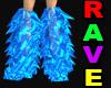 Blue Rave Boots