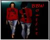BBW Red Winter set