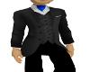 Suit Jacket Blue ascot