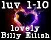 lovely billy eilish