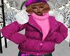 FG~ Purple Winter Jacket