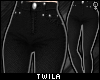 ☾ Black Skinny Jeans