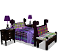 Child Bed Purple
