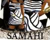 {S} Zebra Dress