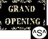 ^S^ Grand OpeningBanner