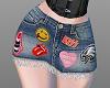 Tina Punk Jean Skirt RLL
