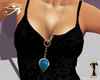 ![T] Necklace Turquoise