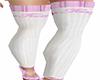 Fancy Stockings Whi/Pink
