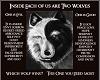 YinYang 2 Wolves Moral