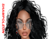 Silver heart glasses