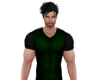 Green Muscle V-Neck