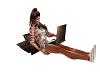 Laptop w/Pillow