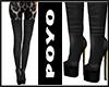 Long Boots-Black