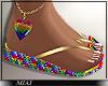 !M! Pride Sandals