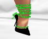 *AL* Green Black Strappy