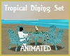 Tropical Blue Dining Ani