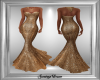 Gold Fishtail Gown