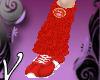 (V) CVH red legwarmers F