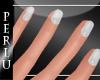 [P]Allie Nails White