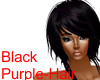 Black-Purple Hair