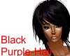 Black-Purple Hair