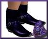 Purple Cowboy Boots M