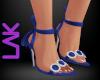 Tatiana heels blue