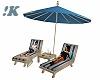 !K! Beached Umbrella Set