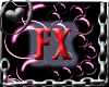 FX Bubbles Frame Pink