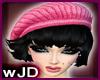 [wjd]black with pink hat