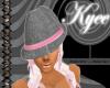 Mafioso Hat Grey Pink