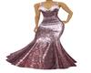 Gown Purple Metal