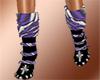 Puglisi purple boots