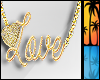 C|Love Gold Necklace F