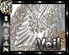 (MI) Veil white/silver