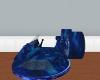 Blue Hover craft