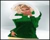 Holiday SweaterHoodGreen